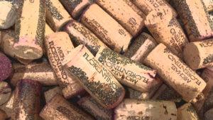 Old World Tasting Room / Michael Florentino Cellars corks in Seattle SODO Urbanworks